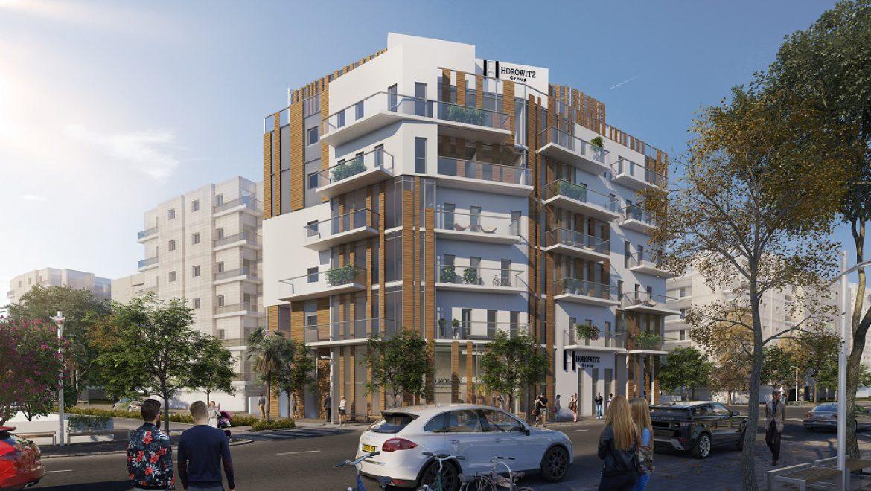 """תל אביב: החל מ-1.7 מיליון שקל לדירה חדשה עם חניה בפרויקט """"עין הקורא 1"""""""