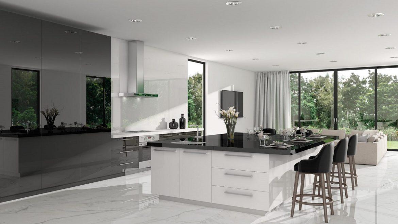 טיפים לעיצוב מטבח: חומרים פרקטיים וקלים לניקוי, ניצול של המרחב האנכי