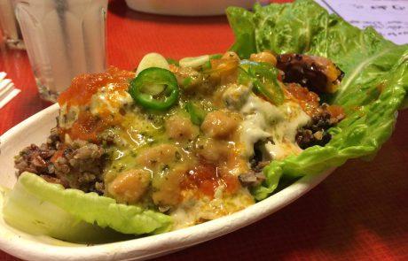 """""""המעבר"""": ארוחת צהריים טבעונית, בריאה וזולה [ביקורת מסעדה]"""