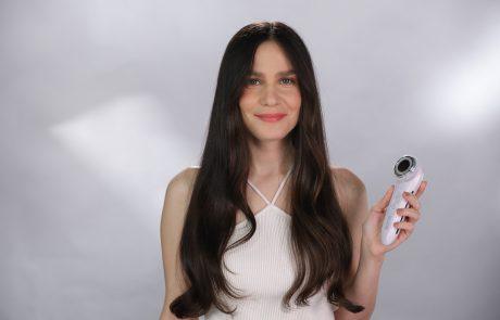 נטע גרטי מציגה: מכשיר יפני לטיפול ביתי בעור הפנים