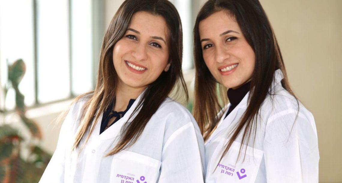 אחיות מוסמכות: התאומות שלמדו יחד לתואר ראשון ועשו הסבה לסיעוד