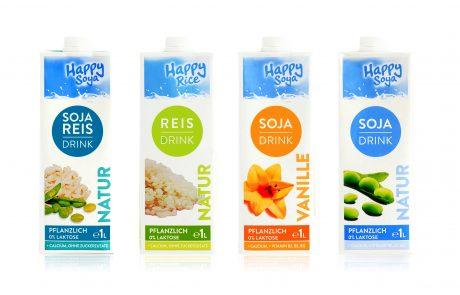 """סדרת משקאות אורז וסויה חדשים של חברת תומר: """"Happy Soya"""" ו-""""Happy Rice"""""""