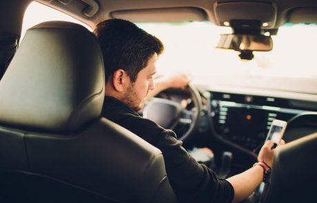 כמה מהנהגים שולחים הודעות טקסט בזמן נהיגה?